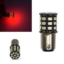 2Pcs BA15S P21W 1156 LED Bulbs Red Strobe Flash Blinking Car Brake Stop Light