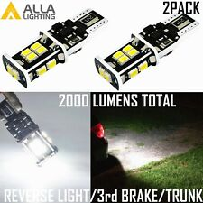 Alla Lighting 6000K 14-LED Back Up Reverse Light,High Brake,Luggage Trunk White