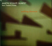 CD Martin Schulte Quatet - Walking Distance, NEW - SEALED