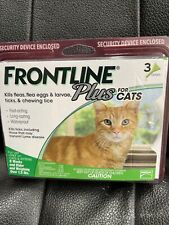 New listing Frontline Plus Flea and Tick Treatment for Cats and Kittens 3 Doses Free Us Ship