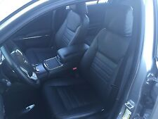 KATZKIN BLACK LEATHER SEAT COVER COVERS 2012 2013 2014 DODGE CHARGER BASE SE