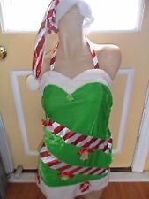 CHRISTMAS FANCY DRESS COSTUME LADIES SIZE 8 OR XS
