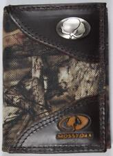 ZEP PRO Cotton MOSSY OAK Camo Trifold Wallet TIN GIFT BOX