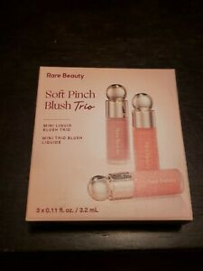 Rare Beauty by Selena Gomez Mini Soft Pinch Liquid Blush Trio ~ Limited Edition