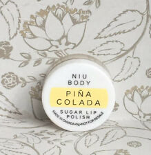 Niu Body Pina Colada Sugar Lip Scrub Polish Travel Size 5g