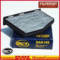 Innenraumfilter Pollen-/Mikrofilter Aktivkohle VW Golf V VI Passat Skoda