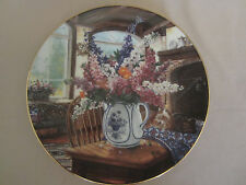 COUNTRY BOUQUETS collector plate MORNING SUNSHINE Glenna Kurz FLORAL Flowers