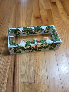 Vintage Acrylic Christmas Holiday Tissue Box Cover Decor