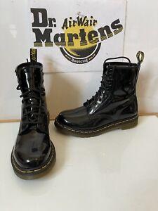 Dr. Martens 1460 Black Leather Boots Size UK 6 EU 39