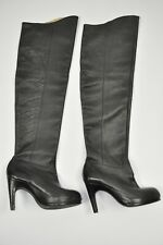 All Saints Ilmatar Thigh High Heel Real Leather Boots Women 38