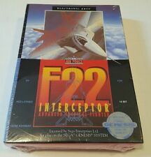 F22 Interceptor (Sega Genesis, 1991) BRAND NEW STILL SEALED