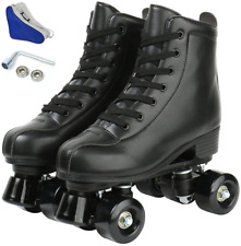 New listing jessie PU Leather Roller Skates Roller Skates for Women Outdoor and Indoor for