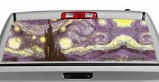 Truck Rear Window Decal Graphic [Starry Night, Van Gogh] 20x65in DC15903