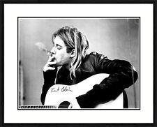 Kurt Cobain framed poster
