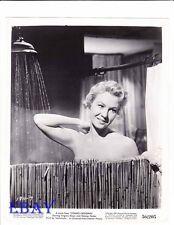 Virginia Mayo takes shower VINTAGE Photo Congo Crossing