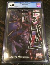 Fantastic Four Annual #1 CGC 9.8 NYCC Variant Secret Wars