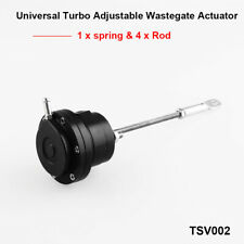 Universal Turbo Wastegate Actuator Kit Internal Rod Aluminum Alloy Black 7-26psi