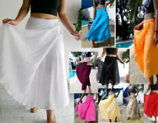 Unbranded Cotton Regular Size Skirts for Women