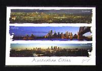 Sydney, Melbourne, Brisbane Australia, Jigsaw Puzzles Postcard
