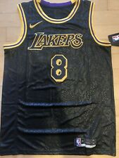 Los Angeles Lakers Kobe Bryant Black Mamba City Edition Swingman Jersey - Large