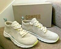 CAMPER Drift Trainers Beige Leather Lightweight UK7 EU40 US10 BNIB K200859-001