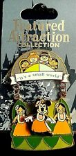 """Disney Featured Attractions, Minnie Mouse, """"it's a small world"""" LE Pin"""