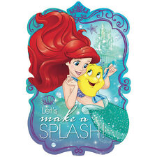 Disney Ariel the Little Mermaid Dream Invitations, Envelopes & Seal Stickers 8ct