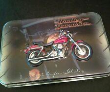 Harley Davidson Dyna Super Glide Playing Cards Tin; USA