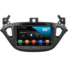 Opel Corsa E Android 8.0 Autoradio Touchscreen 3D Navi Bluetooth DVD WIFI USB SD