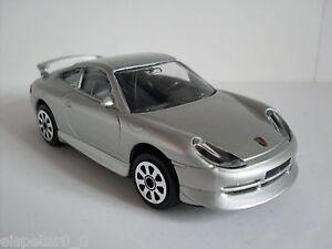 Porsche 911 Carrera Argent, Bburago Rue Fire Modèle Auto 1:43, Neuf, Emballage