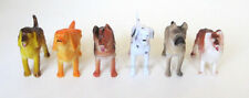 12 Plastic Dog Animal Figures Toy Kid Party Goody Loot Bag Filler Favor Supply