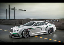 2013 BENTLEY CONTINENTAL GT3 RACER NEW A1 CANVAS GICLEE ART PRINT POSTER FRAMED