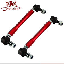 Antiroll Sway Bar Adjustable Drop Links 10mm x 210-260mm For BMW E46 MINI R53