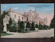 Foreign & Domestic Industries Bldg, Panama-California Expo, San Diego, CA - 1916
