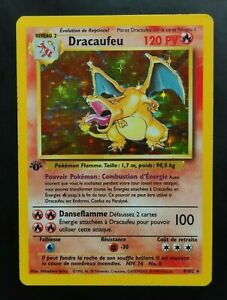 Dracaufeu (Charizard) 4/102 French Base Set 1st Edition LP