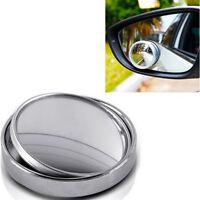 1PC miroir voiture angle mort miroir 360 ° angle vue réglable rétroviseur~PL