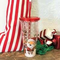 Glitter Christmas Holiday 2020 Acrylic Tumbler Mug 19 oz, Just Say Ho!