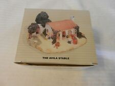 The Avila Stable Figurine from the Pueblo Encantado Collection 1994