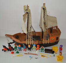 Old playmobil pirate ship 3550 years vintage 80 geobra system