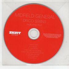 (GS486) Midfield General, Disco Sirens - 2008 DJ CD