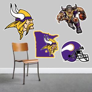 Minnesota Vikings Wall Art 4 Piece Set Large Size------New in Box------
