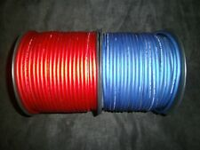 PER 5 FT 8 GAUGE SPEAKER WIRE RED BLUE SUPERFLEX FLEX CABLE AWG MONSTER SUBS