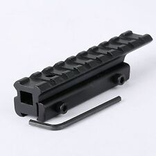11mm to 20mm Picatinny Weaver Rail Scope Extension Mount Base Adapter Converter