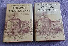 The Complete Works of William Shakespeare Volume 1 and 2 Doubleday