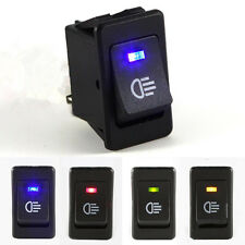 4-Pins LED On/Off Indicator Rocker Toggle Switch Driving Fog Lamp/Work LightLAMO