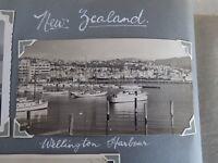 1950s Photo Of The Wellington Harbour New Zealand