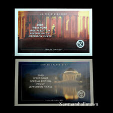 2020 W+W Jefferson Proof and Reverse Proof from Mint Proof Set with Envelope