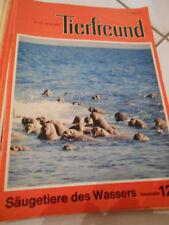 13 x Der kleine Tierfreund Hefte von 1974 und 1975