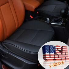 1PU-US Ship Leather Car Front Seat Cushion Pad Protector Mat Cover Sedan Driver
