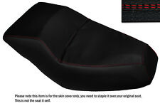 RED DS STITCH CUSTOM FITS HONDA HELIX CN 250 DUAL LEATHER SEAT COVER